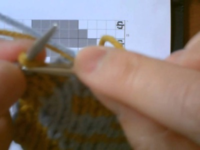 Double Knitting Tutorial: Part 3 - Adding Yarn
