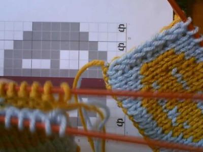 Double Knitting Tutorial: Part 4 - Finishing