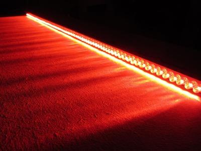車DIY Tutorial ไฟ led How to Make Car Brake Lights LED Bar Wire Light Ideas 12V