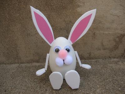 Easy Easter Bunny Craft Tutorial
