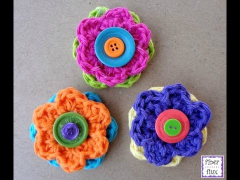 Episode 164: How To Crochet Button Flowers