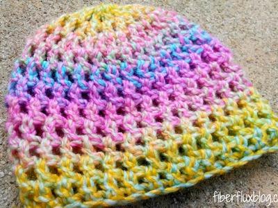 Episode 181: How to Crochet the Confetti Newborn Hat
