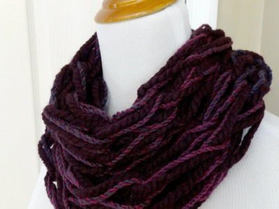 Episode 40: How to Make the Chunky Arm Knit Cowl