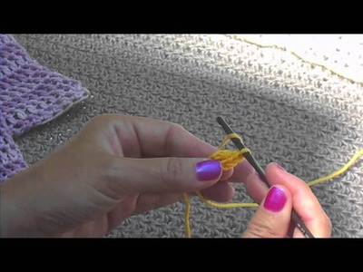 Foundation Double Crochet and Foundation Single Crochet Tutorial from Legwarmers Pattern