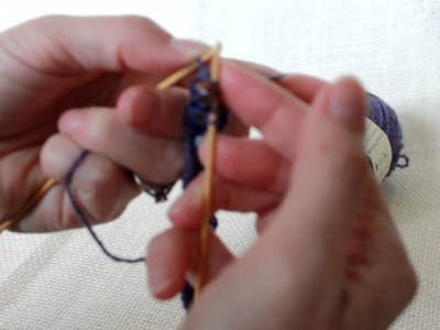 Free pattern and tutorial - knitting beaded bracelet (2)