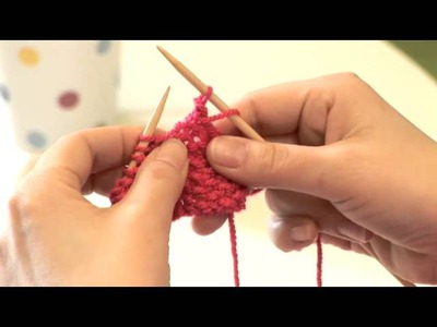How To Bind Off Knitting