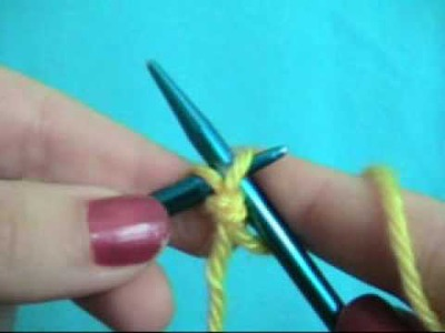 How to: Cast on Knitting