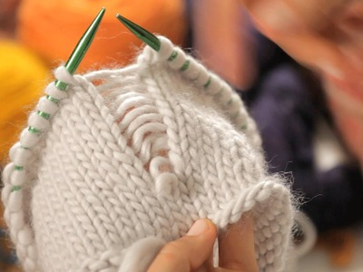 How to Create False Seams | Circular Knitting