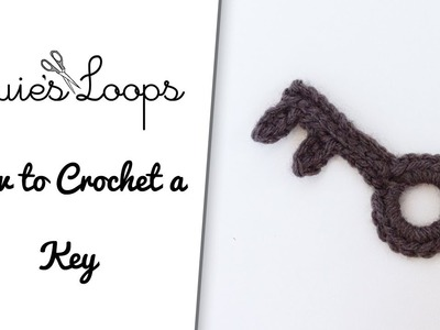 How to Crochet a Key
