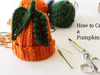 How to Crochet a Pumpkin Hat