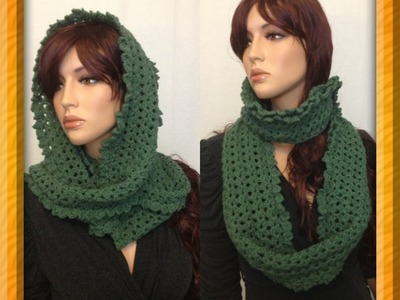 How to Crochet a Round Infinity Scarf Pattern #10 by ThePatterfamily