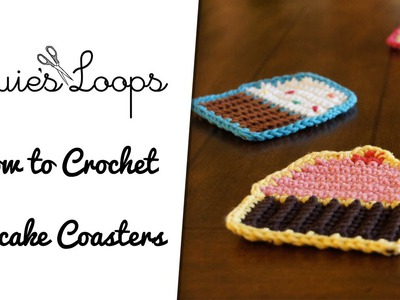 How to Crochet Cupcake Coasters