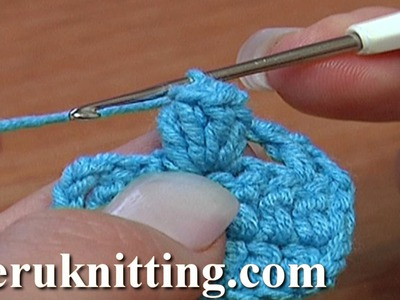How to Crochet Popcorn Stitch Tutorial 11 Part 1 of 5 Ways to Crochet Popcorn Stitch
