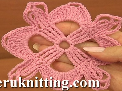How To Crochet Square Motif Tutorial 9 Part 1 of 2