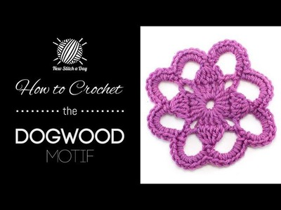 How to Crochet the Dogwood Motif