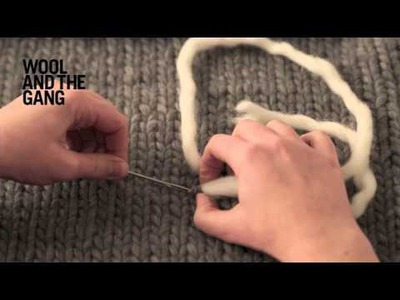 How to Duplicate Stitch on Knitting