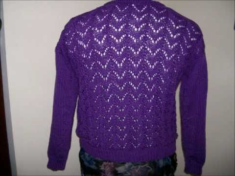 How to Knit a Lace Sweater - Introduction