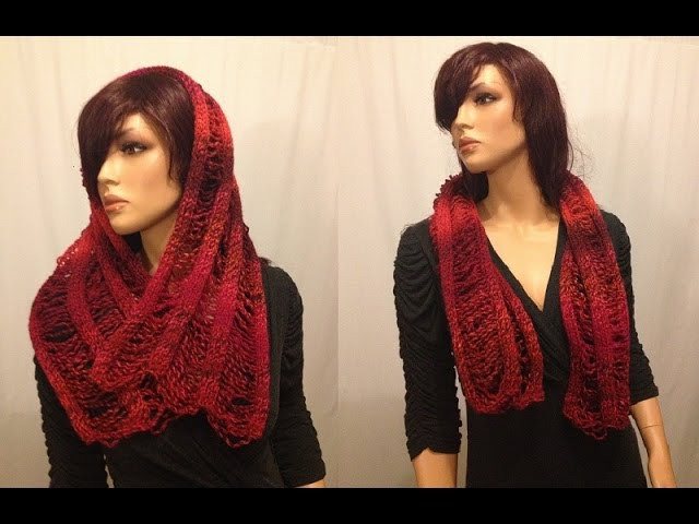How to Knit a Scarf Pattern #12 │by ThePatterfamily