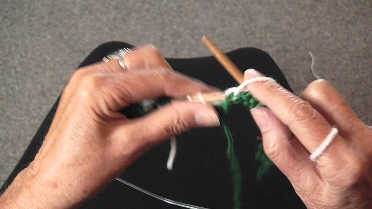 HOW TO KNIT A SNOWFLAKE PART 2
