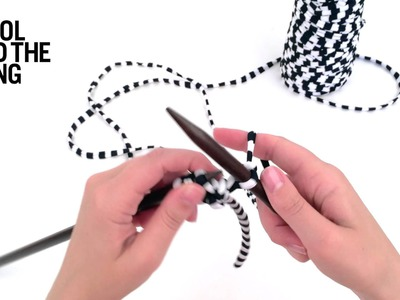 HOW TO KNIT AN I-CORD ON STRAIGHT NEEDLES