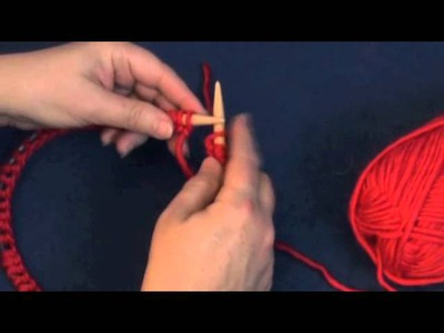 How to Knit in the Round on One Circular Needle