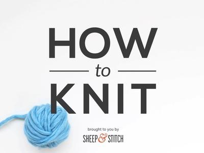 How to Knit - Knit Stitch