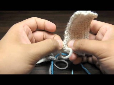 How to Knit the Mattress Stitch