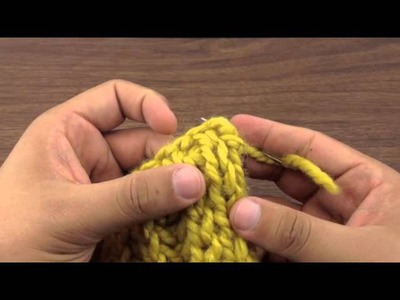 How to Knit: Weaving in Ends on Brioche