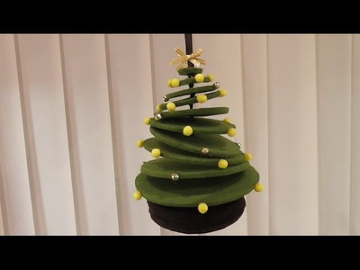 How to make a 3D felt Christmas Tree (DIY Tutorial)