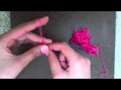 How to make a finger crochet bracelet
