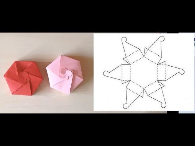 How to make a Gift Box - Craft Idea for Romantic Presents Decoration - DYI
