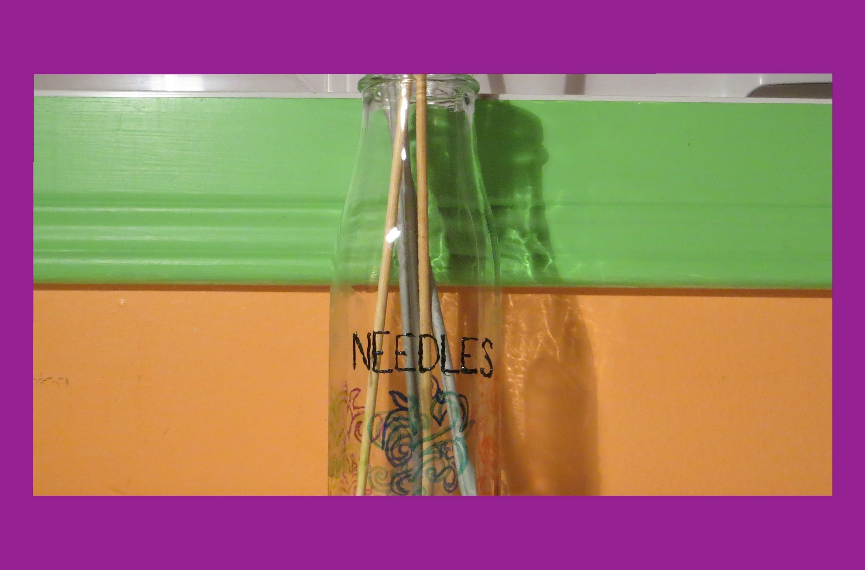 How to Make a Knitting Needle Holder