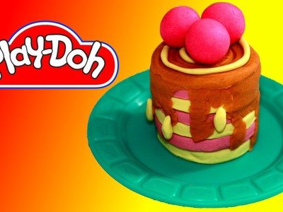 How to make Cranberry Cream Pie out of Play Doh