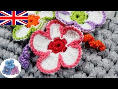How to make Crochet Flowers DIY Crochet Flower Amigurumis Mathie