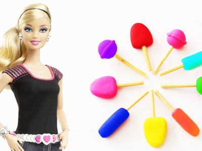 How to Make Doll Popsicles, Lollipops and Dum Dums - Doll Craft