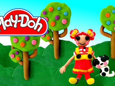 How to make Play Doh Lalaloopsy Ember Flicker Flame  Play-Doh Craft N Toys