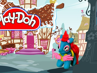 How to make Play Doh Mrs. Cupcake  My Little Pony