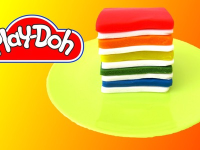 How to make Rainbow Jello out of Play Doh