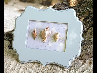 How to Make Shell Wall Art | Easy Craft Tutorial