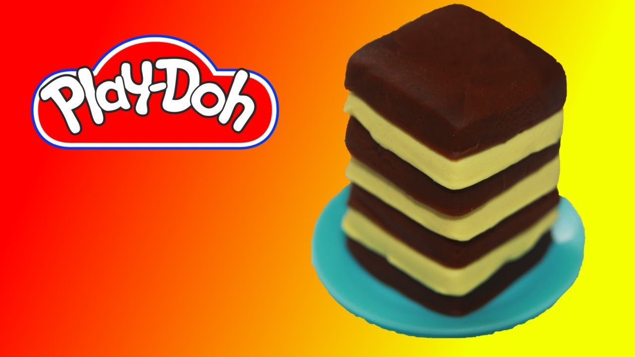 How to make Tiramisu Cake out of Play Doh