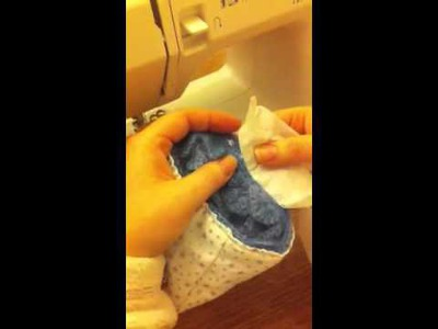 How to use a sewing machine with crochet or knitted items. | Haylees Hats