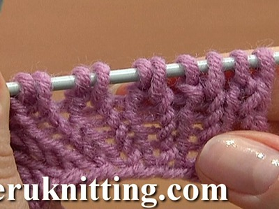 Increasing Stitches Knit Stitch On Row Below Tutorial 8 Method 4 of 14 Increases in Knitting