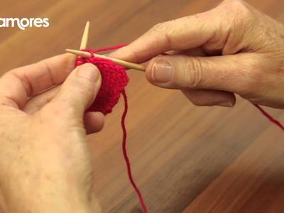Knit Front And Back (KFB) - Deramores Knitting Tutorial