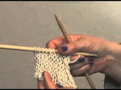 Knitting Instructional: How to Slip, Slip, Knit (SSK)