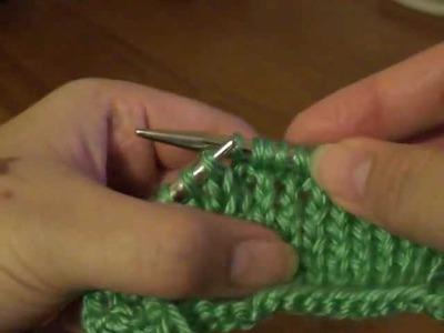 M1 (Make 1)-Knitting Increase Stitch