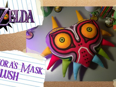 Majora's Mask Plush.Cushion DIY Tutorial