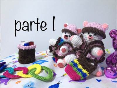Oso tejido parte 1 #Amigurumis #Ganchillo #Crochet Teddy Bear DIY