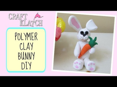 Polymer Clay Bunny DIY Craft Klatch Easter Series