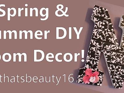 Spring & Summer DIY Room Decor Projects ♡ 2014 | allthatsbeauty16