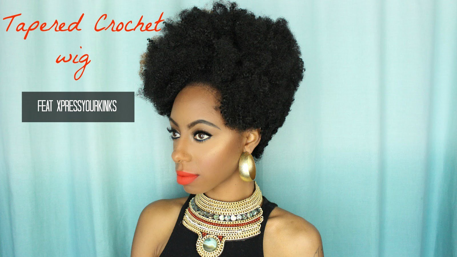 Tapered crochet wig feat Xpressyourkinks